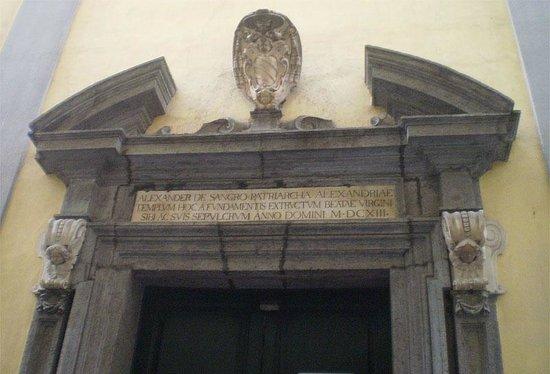 Cappella Sansevero: Вход в Капеллу Сан-Северо