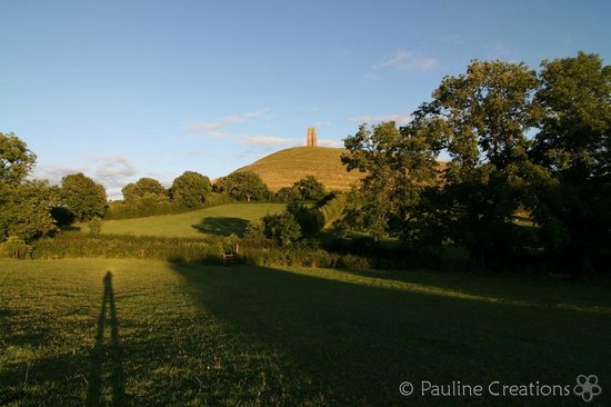 The Glastonbury White House: Glastonbury Tor