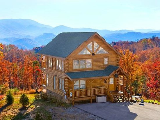 Gatlinburg Falls Resort : Tomorrows Memories Cabin