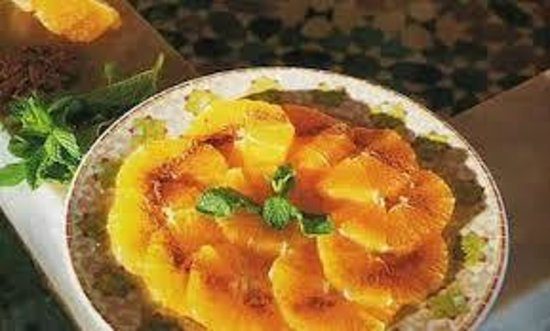 Soleil d'Agadir : Orange à la cannelle
