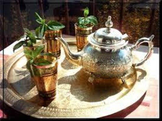 Soleil d'Agadir : Thé à la menthe