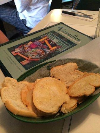 Versailles Restaurant : Cuban bread