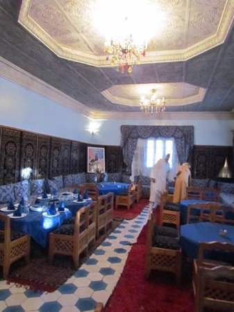 Kasbah Asmaa : One of the dining areas