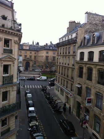 Hotel du College de France: view