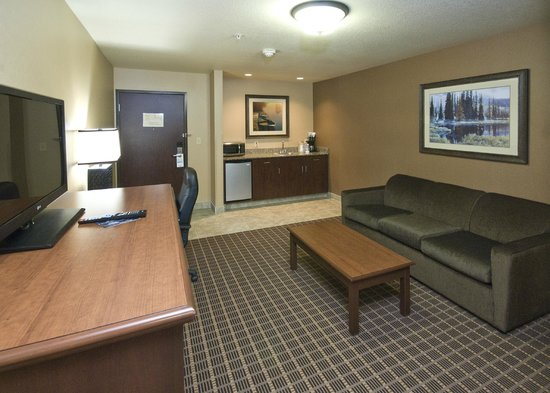 Holiday Inn Express & Suites - The Hunt Lodge: Suite Living Room