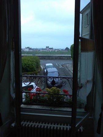 Cote Loire Auberge Ligerienne: view from 7 Mme de Sévigné