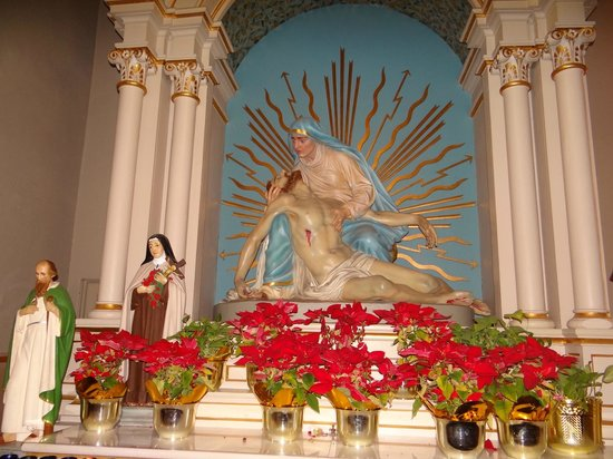 St Joseph Catholic Church : Interior of the church