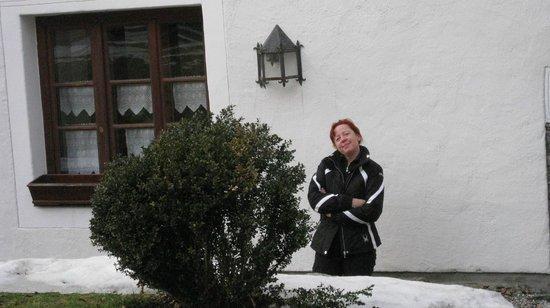 Hotel Schloss Thannegg : Im Schlosshof