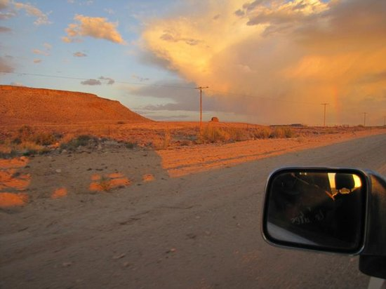 Fish River Canyon Nationalpark : Approaching some intnese weather