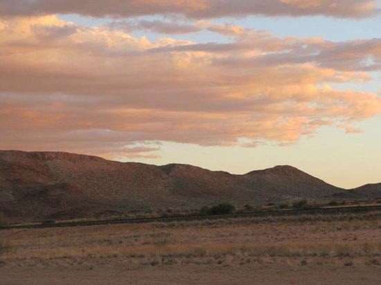 Fish River Canyon Nationalpark : Sunset skies