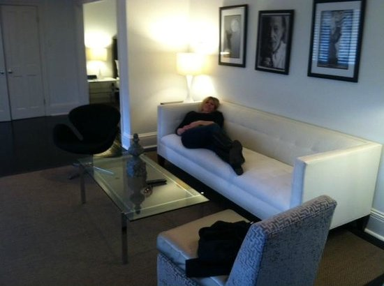 Melrose Mansion : Modern Living Room