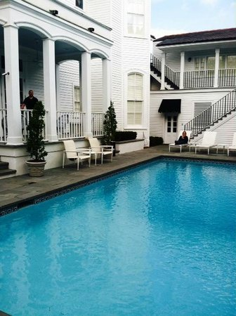 Melrose Mansion : Pool and Hotel