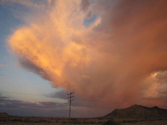 Fish River Canyon Nationalpark : Beautiful cloude