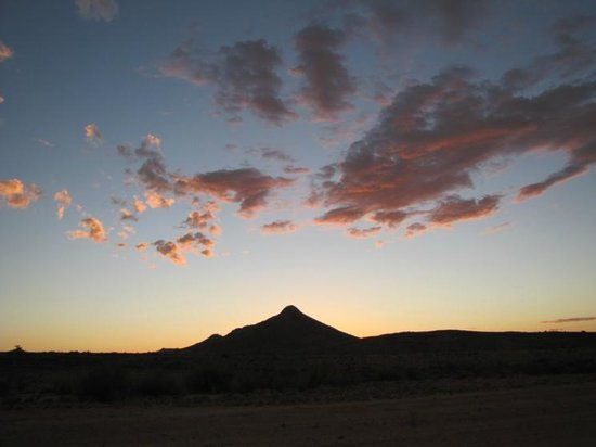 Fish River Canyon Nationalpark : And ... It'done. Another beautiful sunset is completer
