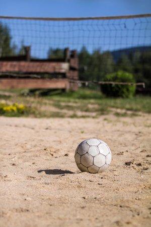 Rezidence U Jezera: Beach volleyball