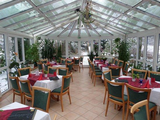 Riedelmühle: Wintergarten mit bis zu 40 Sitzplätzen