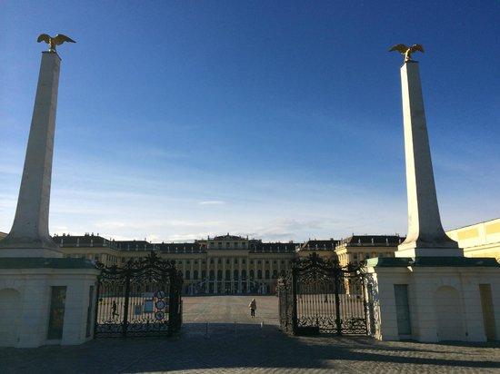 Schloss Schönbrunn: de entree