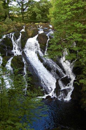 Bod Gwynedd Bed & Breakfast: nearby Swallow Falls, Betws-y-Coed