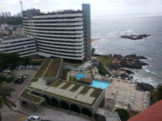 Bahia Othon Palace: Vista do quarto janela lateral.