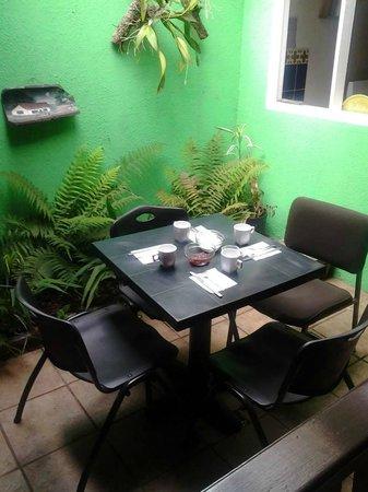Casa Ridgway Hostel: Dining room