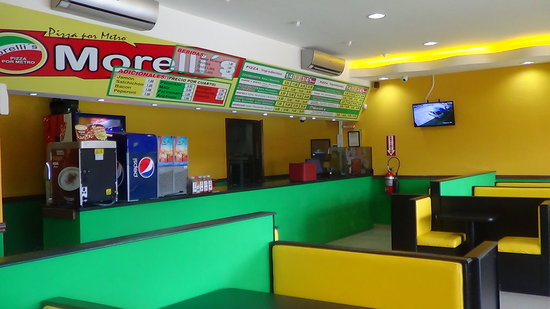 Morelli's Pizza por Metro