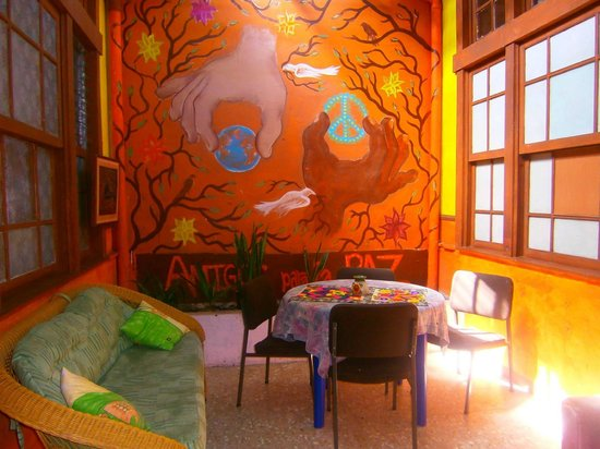 Hostel Casa Ridgway: Shared area