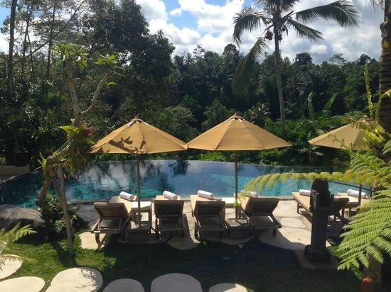 Puri Gangga Resort: The pool area