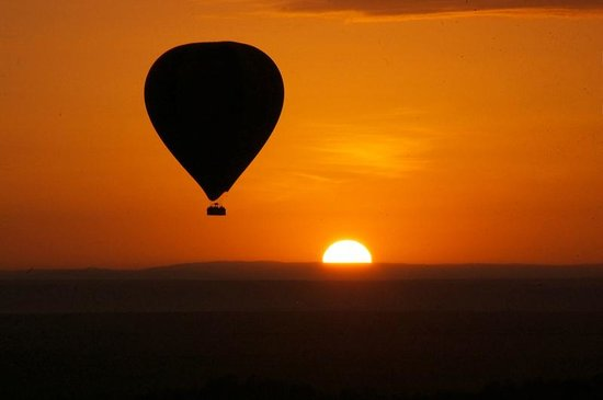 Little Governors' Camp: Balloon Flight Over The Mara River