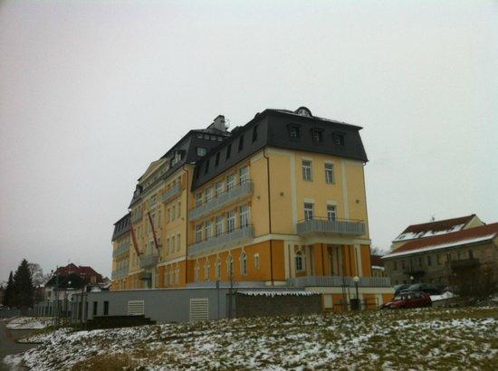 Spa & Kur Hotel Harvey: Winter hotel
