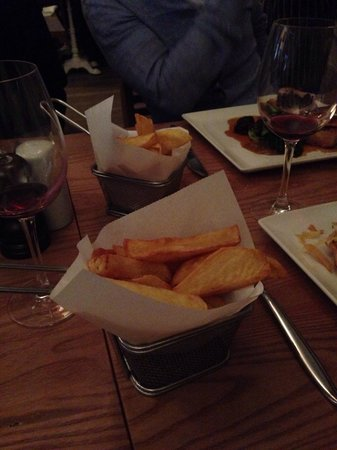 Erics: Triple cooked chips in beef fat ��
