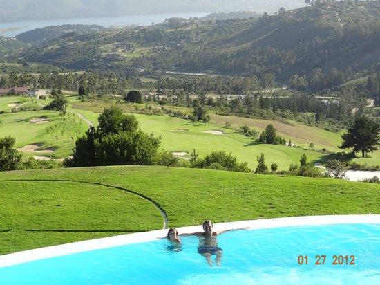 Simola Hotel Country Club & Spa : Vista de las Piscinas y Campo de Golf