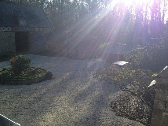 Chambres d'Hôtes La Grande Sauvagère : Levé de soleil chambre Emeraude