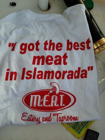 MEAT Eatery And Taproom: These are hilarious shirts