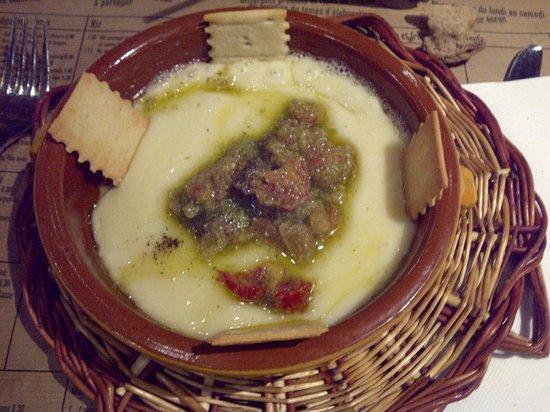 Cuines Santa Caterina : Provolone au four
