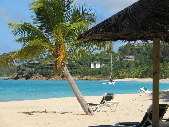 Galley Bay Resort: View from Gaugin Restaurant