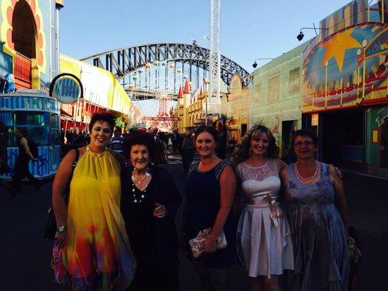 Luna Park Sydney: great also for formal events Nat Tourism Awards