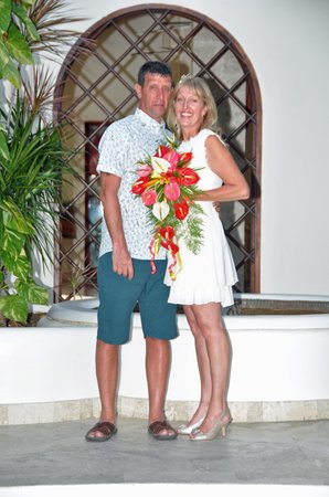 Mango Bay All Inclusive: Our wedding day 20th Jan 2014
