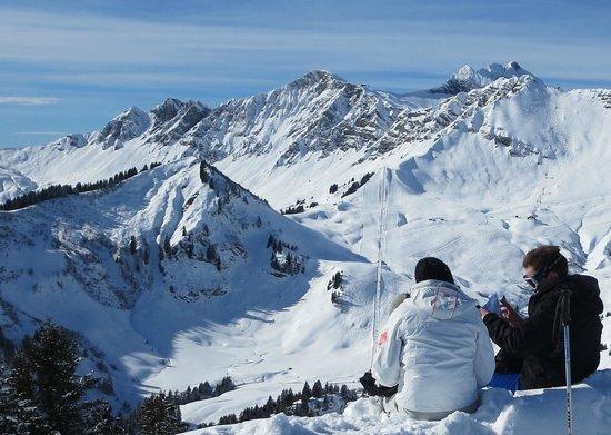 Chalet Hôtel Alté Névé : Ski Area