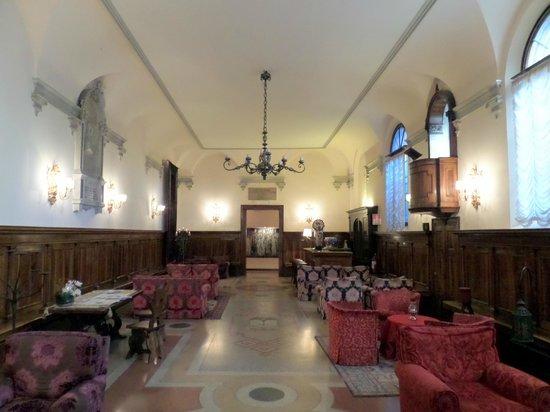 Hotel Abbazia: Salone bar