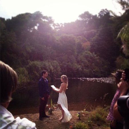 Te Mata Lodge: Love ceremony