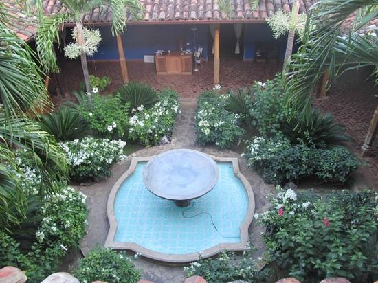 Miss Margrit's Guest House: First Courtyard