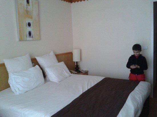 Mercure Les Deux Alpes 1800 Hotel : Grand lit double