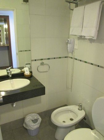 Hotel América: never really understood a bidet, but its there