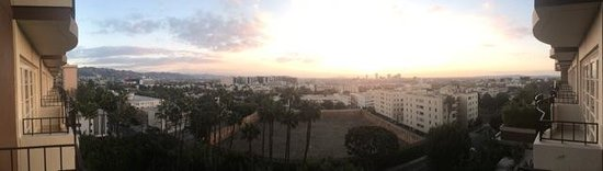 Four Seasons Hotel Los Angeles at Beverly Hills : Panaramic View from room 814
