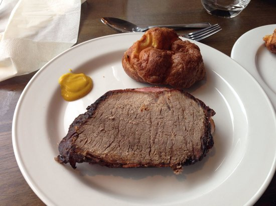 Redcastle Hotel: Roast beef English mustard scrummy baked ham and a a Yorkshire pud