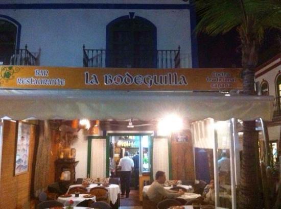 la bodeguilla juanana : la Bodeguilla, Puerto Mogan, Gran Canaria