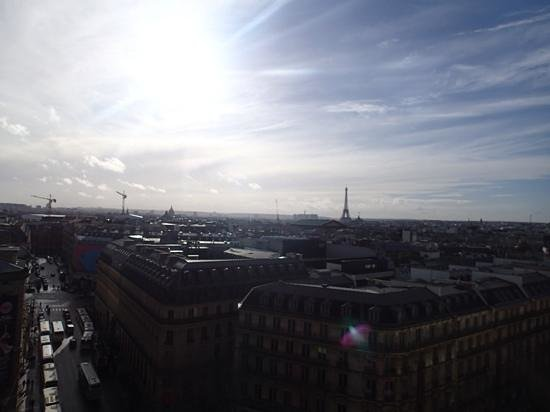 Galeries Lafayette: view from the top