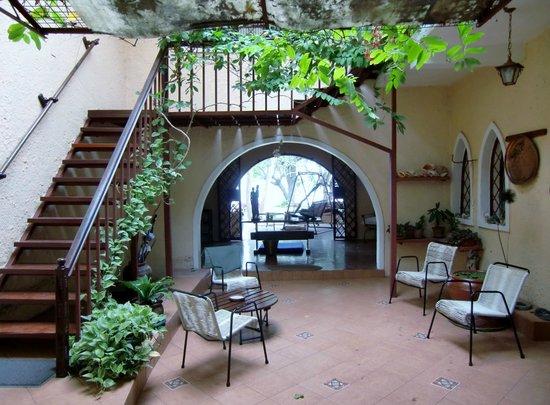 What Next: Interior courtyard