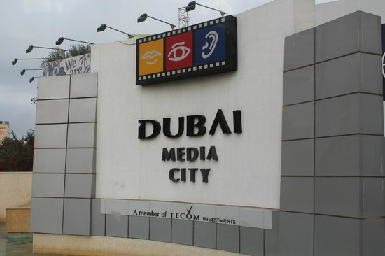 Media One Hotel Dubai: Media City area