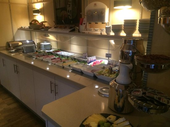 Bavaria Boutique Hotel : Breakfast selection